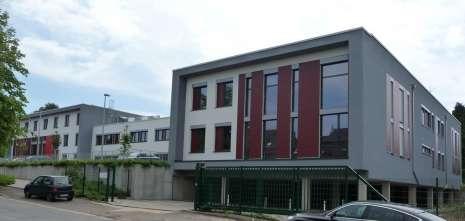 Gebouwen van de school AHS - autonome hogeschool in Eupen - 19.000 m² - 2012 tot 2013