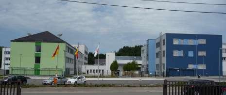 Bâtiments du campus RSI-ZAWM à Eupen – 110.000 m² - 2012 à 2014
